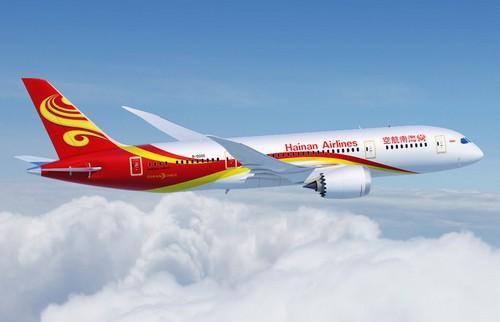 самолет Hainan Airlines